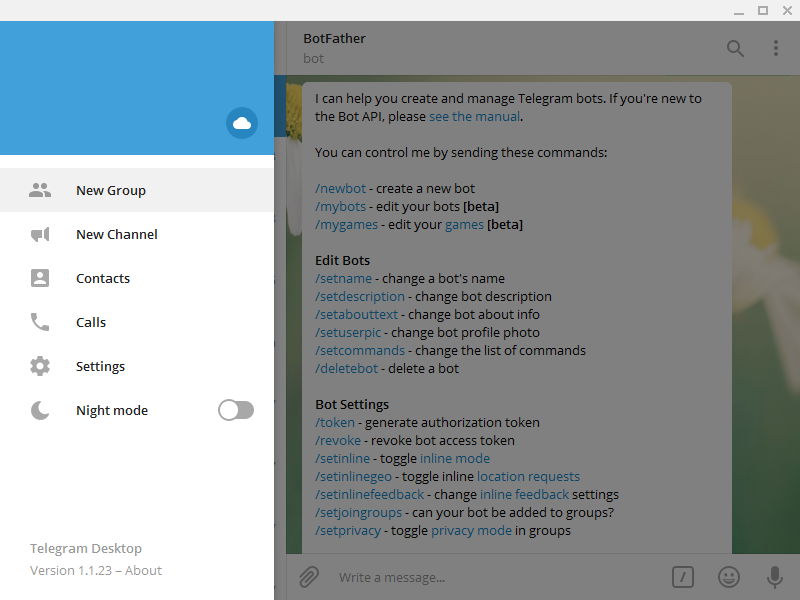 Telegram Driver - Rapid SCADA Documentation